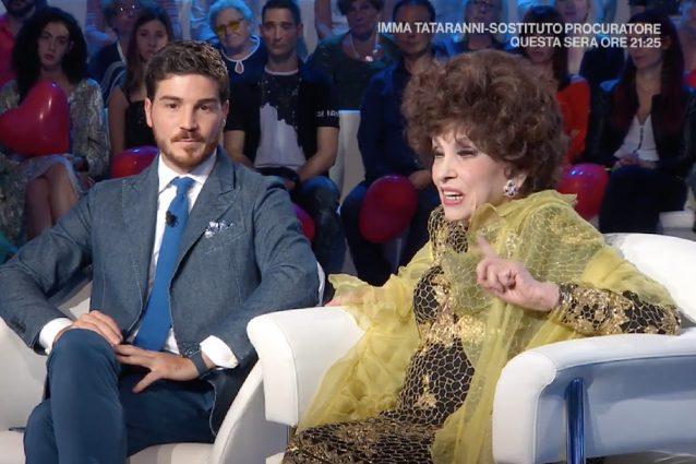 """Gina Lollobrigida e Andrea Piazzolla, lei lo difende: """"Dei miei soldi ..."""