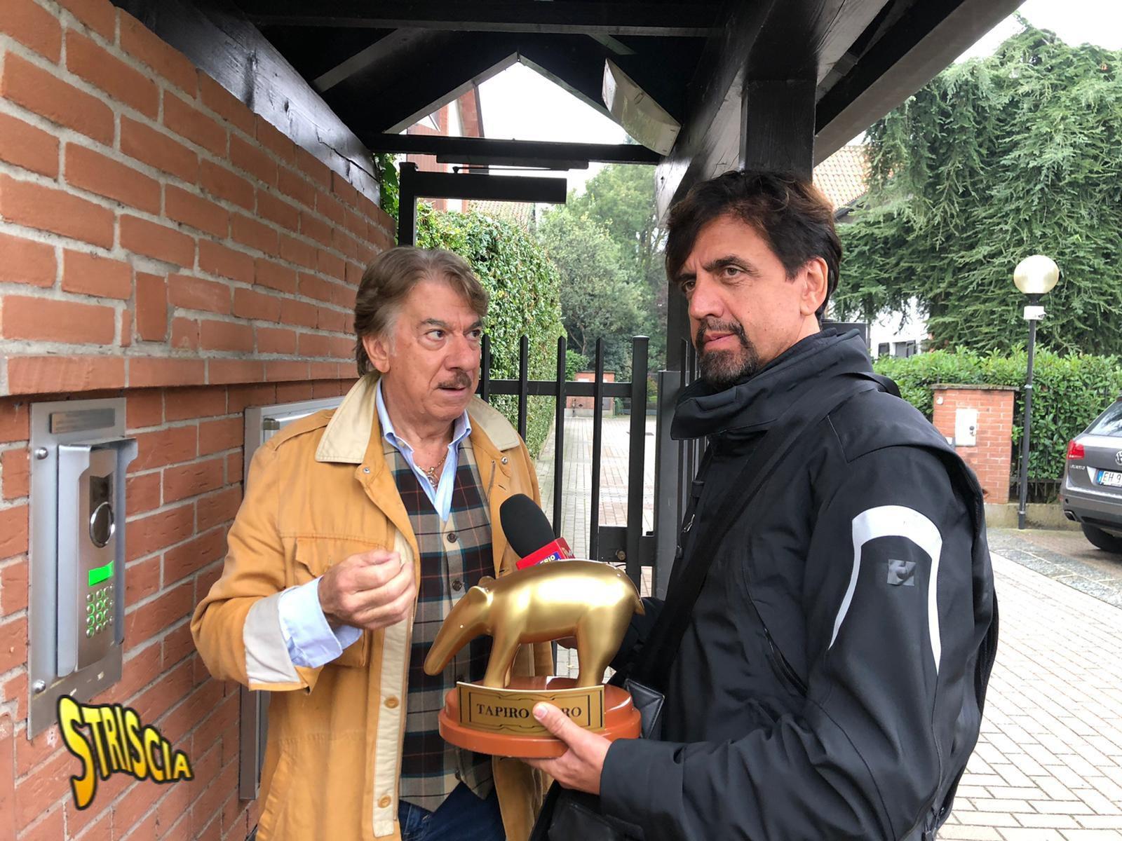 """Tapiro a Marco Columbro per la lite con Barbara D'Urso: """"Sono stato ..."""