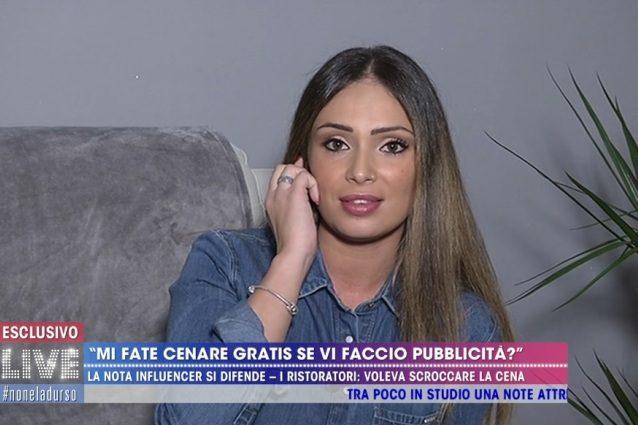 """Valentina Pivati e la cena gratis in un ristorante: """"Faccio la ..."""