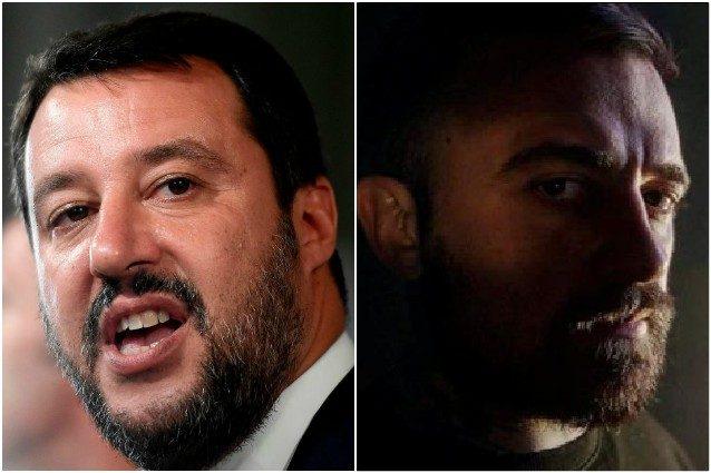 """Sparatoria Trieste, Matteo Salvini replica a Chef Rubio: """"Sei uno ..."""