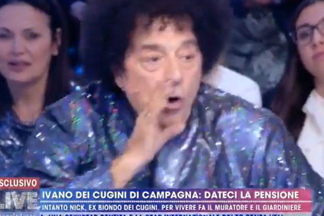 """Ettore Andenna: """"Oggi allevo polli"""", Ivano dei Cugini di Campagna a ..."""
