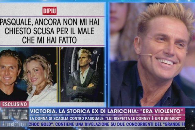 """Pasquale Laricchia risponde a Victoria Pennington: """"Non sono"""