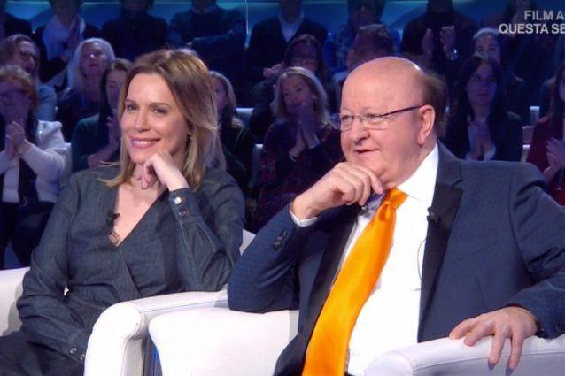 """Massimo Boldi e la fidanzata Irene Fornaciari in Tv: """"Una be"""