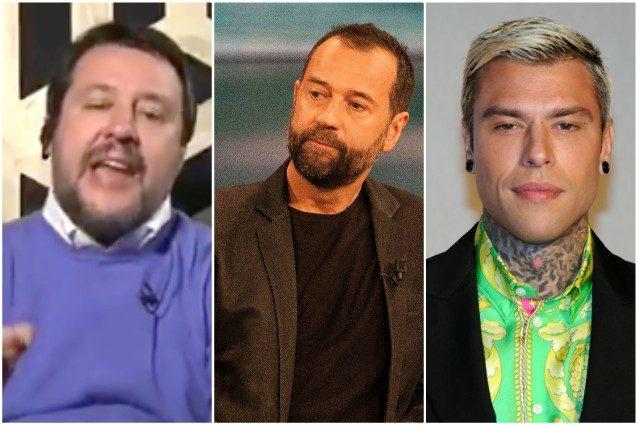 """Matteo Salvini a Fabio Volo e Fedez: """"Non prendo lezioni di"""