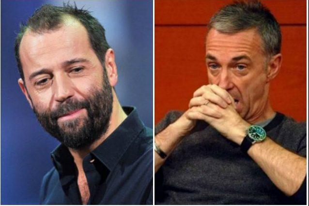 """Linus condanna Fabio Volo per l'attacco a Salvini: """"Non era"""