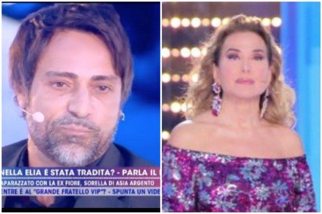 """Lite tra la D'Urso e Pietro Delle Piane, in studio Fiore Argento: """"Mi ha ..."""
