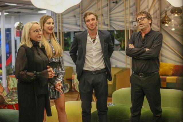Paolo e Clizia imbarazzati da Eleonora Giorgi, lo sfogo di l