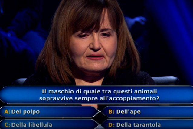 'Chi vuol essere milionario?' Maria Cristina De Gregorio per