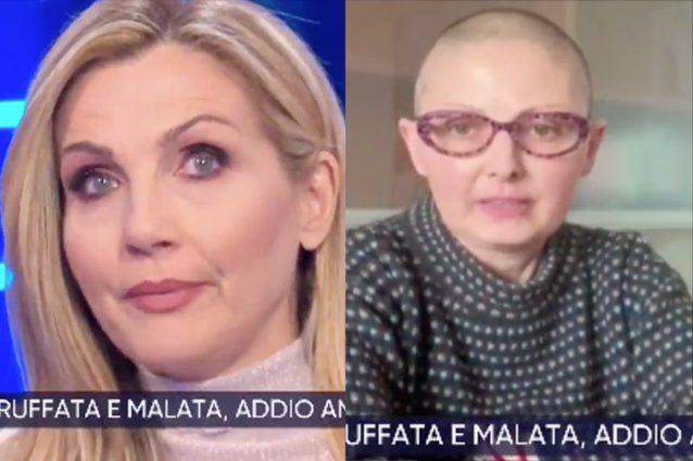 La vita in diretta, Lorella Cuccarini in lacrime per Anna Mo