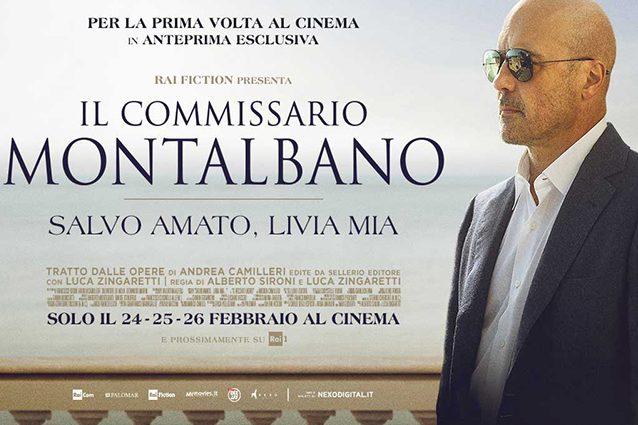 """""""Il commissario Montalbano"""" esce al cinema, metà incasso all"""