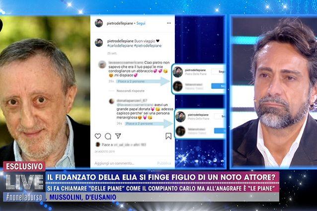 PietroDelle Piane si scusa con Barbara D'Urso e chiarisce: