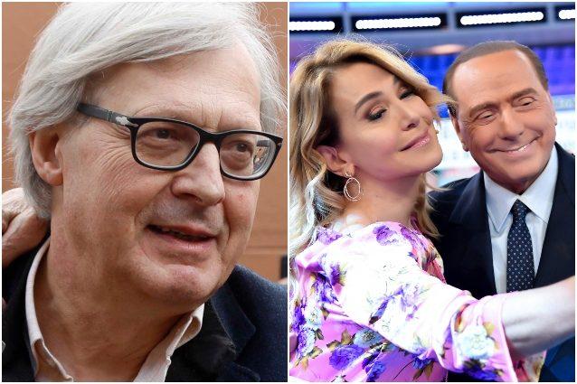 """Sgarbi si scusa con la D'Urso: """"Berlusconi mi parlò bene di"""