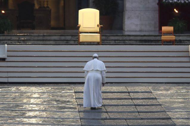 L'Urbi et Orbi di Papa Francesco conquista l'Italia: più di