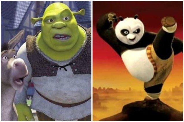 Da Shrek a Kung Fu Panda, tutti i film della DreamWorks in u