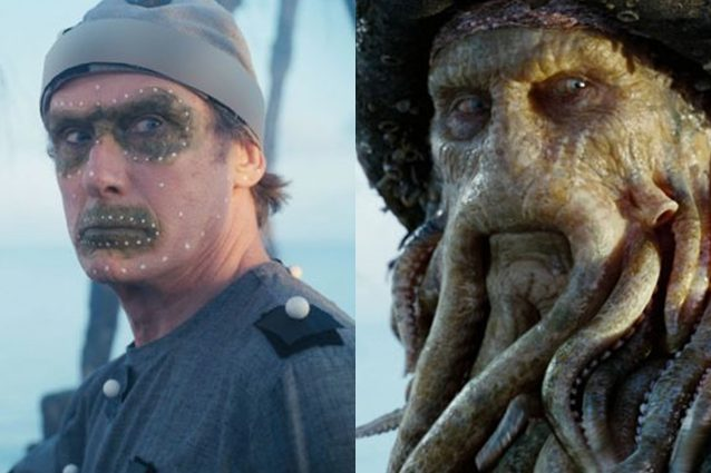 Per Davy Jones in Pirati dei Caraibi 2, l'attore Bill Nighy