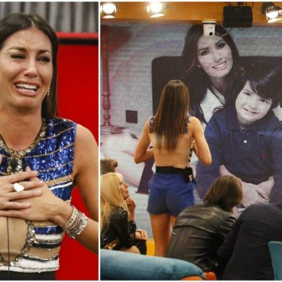 Nathan Falco al GF Vip: Sono a Dubai con papà, Elisabetta Gregoraci crolla  in diretta