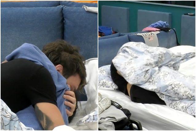 GFVip, il primo bacio di Lulù e Manuel Bortuzzo sotto le lenzuola