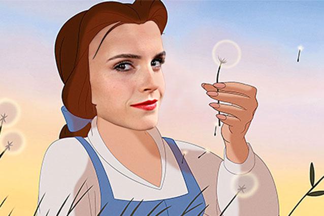"""Emma Watson sarà Belle nel film de """"La bella e la bestia"""", le reazioni della rete"""