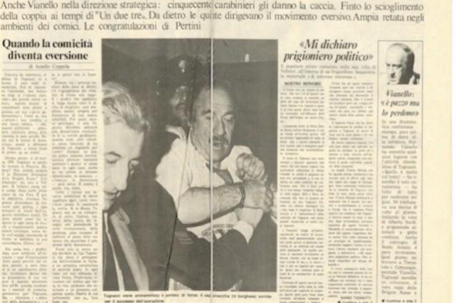 """Ugo Tognazzi moriva 25 anni fa, provò a dirci che il gossip è """"una cazzata"""""""