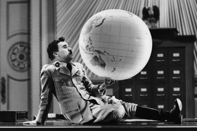 Risultati immagini per chaplin il grande dittatore
