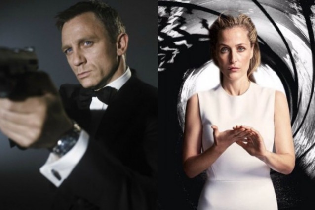 """Gillian Anderson vuole essere il nuovo Agente 007: """"Sono Bond, Jane Bond"""""""