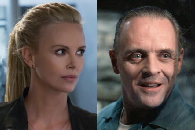 "Charlize Theron come Hannibal Lecter in ""Fast and Furious 8"""