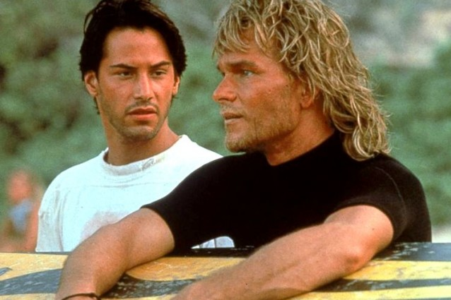 """Point Break"", il cult con Keanu Reeves e Patrick Swayze usciva 25 anni fa"
