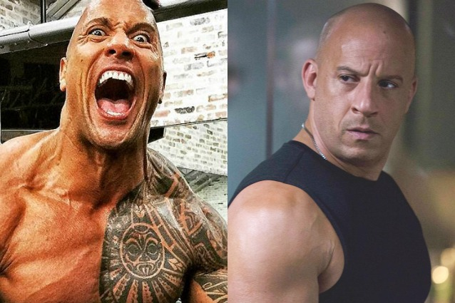 "L'ira di Dwayne Johnson contro Vin Diesel sul set di Fast and Furious 8: ""Codardo"""