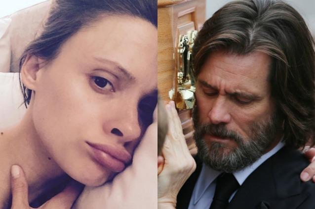 """L'ultima lettera di Cathriona White, ex suicida di Jim Carrey: """"Ho schifo di me stessa"""""""