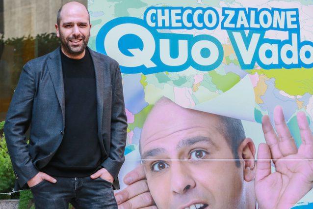 """""""Quo Vado?"""" di Zalone vince il Biglietto d'Oro, è il film più visto dell'anno"""