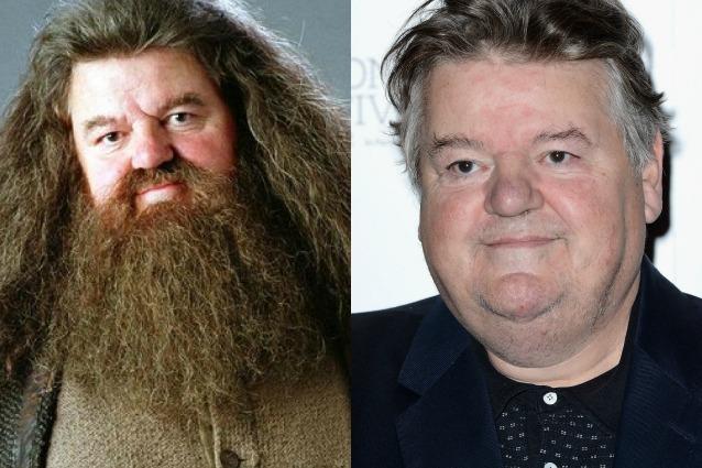 Robbie Coltrane non è più Hagrid di Harry Potter, senza barba è irriconoscibile