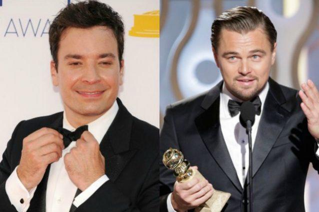 Jimmy Fallon conduce i Golden Globe 2017, sul palco anche Leonardo DiCaprio