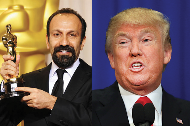 Divieto Trump, il regista iraniano Asghar Farhadi non sarà alla cerimonia degli Oscar 2017