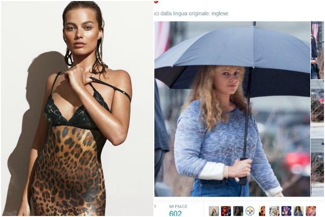 Margot Robbie grassa e irriconoscibile, l'incredibile trasformazione della sexy attrice