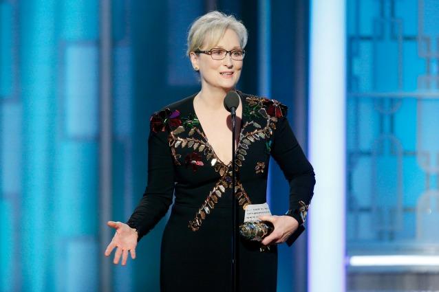 """Meryl Streep contro Trump: """"Con lui abbiamo perso. Usa il potere per bullizzare gli altri"""""""
