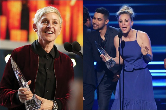 People's Choice Awards 2017: premi a Finding Dory, Ellen DeGeneres e The Big Bang Theory