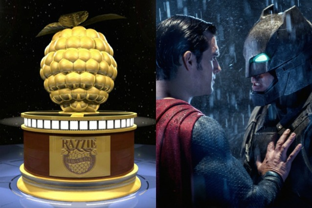 "Razzie Awards 2017: 8 nomination a ""Batman v Superman"" agli Oscar dei film più brutti"