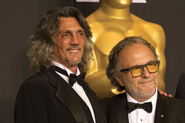 """Due italiani premi Oscar 2017, Alessandro Bertolazzi e Giorgio Gregorini per """"Suicide Squad"""""""