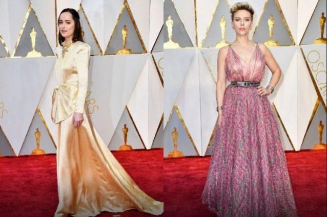 Sul red carpet Dakota Johnson delude, Scarlett Johansson stupenda in rosa
