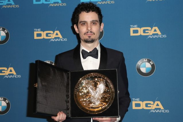 "Damien Chazelle vince ai DGA Awards 2017, l'Oscar per ""La La Land"" è sempre più vicino"
