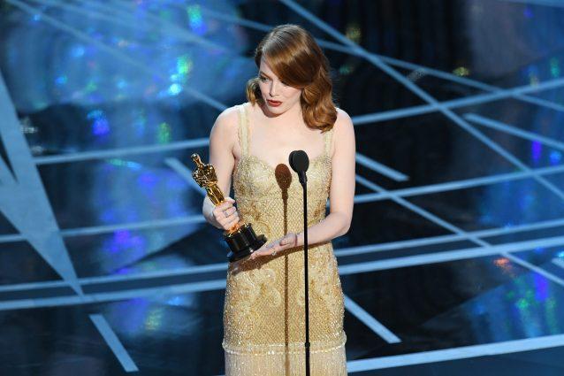 A Emma Stone premio Oscar come miglior attrice protagonista in La La Land