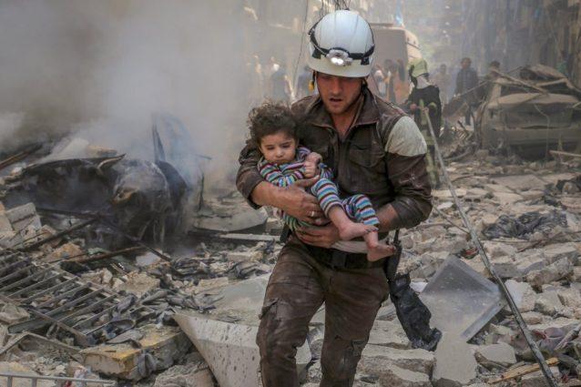 A The White Helmet l'Oscar come il miglior corto documentario