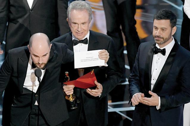 Oscar 2017 a Moonlight, aperta inchiesta sull'errore dell'annuncio come miglior film