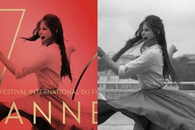 Claudia Cardinale ritoccata nel manifesto di Cannes, snelliti fianchi e cosce dell'attrice