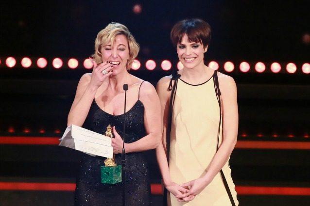 """David di Donatello 2017, la pazza gioia di Valeria Bruni Tedeschi: """"Ringrazio la mia analista"""""""