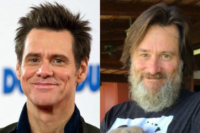 Jim Carrey irriconoscibile, l'attore con barba bianca e volto invecchiato