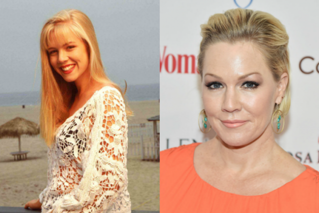 "Jennie Garth: Kelly di ""Beverly Hills 90210"" compie 45 anni"