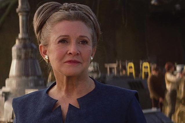 Carrie Fisher non comparirà in Star Wars IX, Lucasfilm conferma