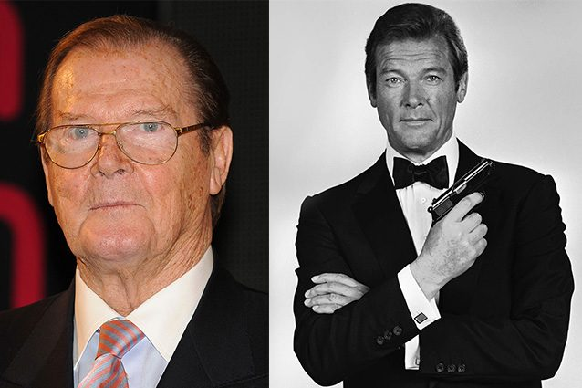 Morto a 89 anni Roger Moore, sette volte ironico James Bond