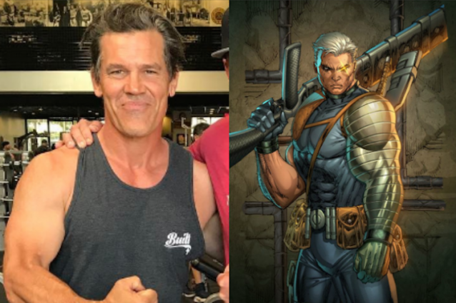 """""""Deadpool 2"""": Josh Brolin gonfia i muscoli per il ruolo del potente Cable"""
